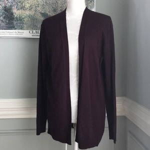 NWT GAP Auberge Open Cardigan Lightweight SZ M